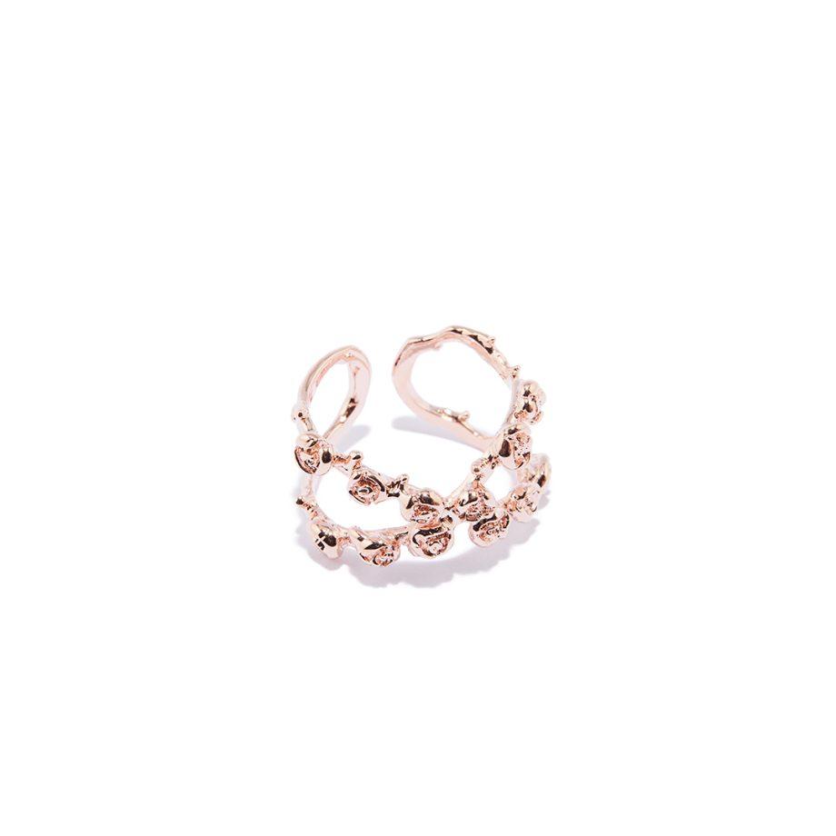 Roosa kuld, reguleeritav suurus, sõrmus roosa kullaga
